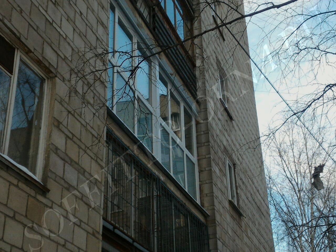 Пластиковые окна - фото soffitto-okna.
